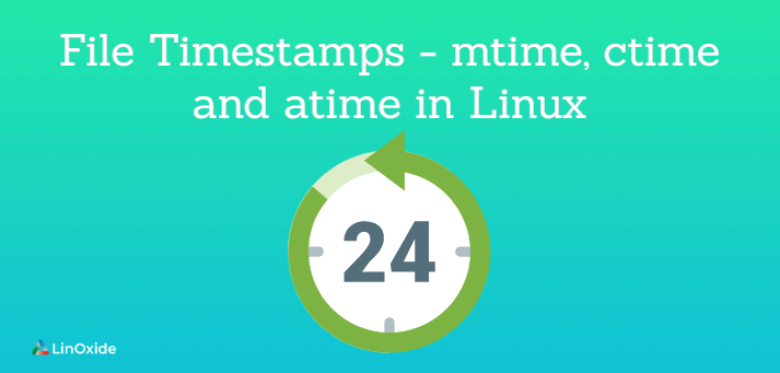 file timestamps in linux