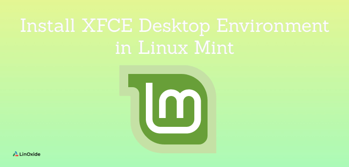 install xfce on linux mint