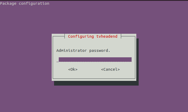 Give administrator password
