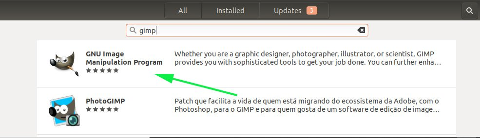 Install-GIMP-form-Software-Center