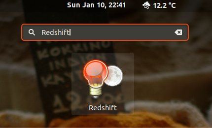 Install and use RedShift