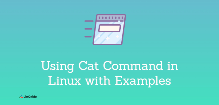 Using Cat Command in Linux with Examples